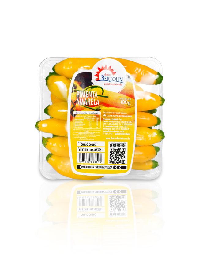 Imagem produto pimenta amarela