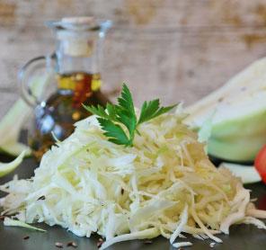 Imagem texto blog salada de repolho
