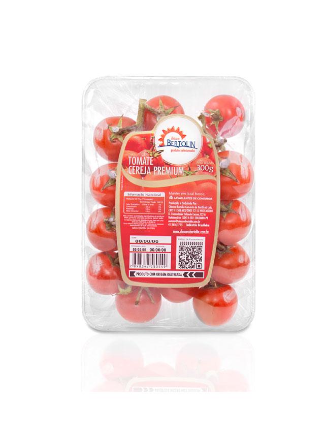 Imagem tomate cereja premium