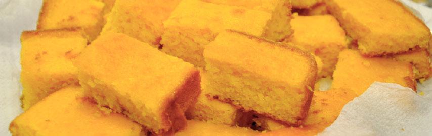 Imagem receita bolo de milho